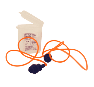 PPE-012 Malta Dynamics Prosil Corded Earplugs (50 Pack)