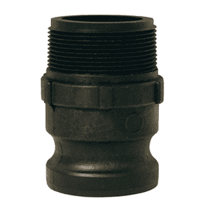 "PPF125 Dixon 1-1/2"" x 1-1/4"" Type F Polypropylene Adapter - Male NPT x Male Adapter"