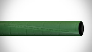 "ContiTech Plicord® Air 400 Heavy Duty Air / Multipurpose Hose - 3.00"" (3"") ID - 400 PSI - Green - 20018832 Goodyear/Continental - 100ft"