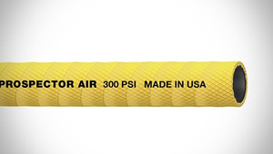 "ContiTech Prospector™ Air Heavy Duty Air / Multipurpose Hose - 0.75"" (3/4"") ID - 300 PSI - Yellow - 20070736 Goodyear/Continental - 50ft"