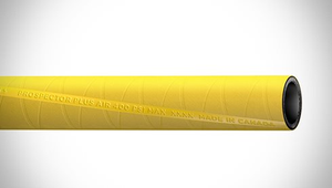 "ContiTech Prospector™ Plus Air Heavy Duty Air / Multipurpose Hose - 1.25"" (1-1/4"") ID - 400 PSI - Yellow - 20317200 Goodyear/Continental - 50ft"