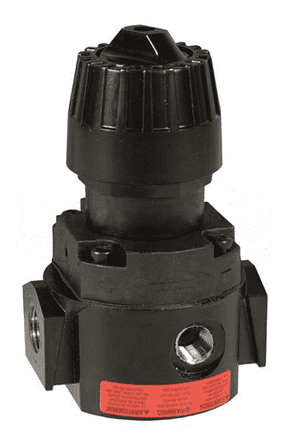 "R16-02RH Dixon Wilkerson 1/4"" High Pressure Compact Regulator without Gauge - 71.5 SCFM"