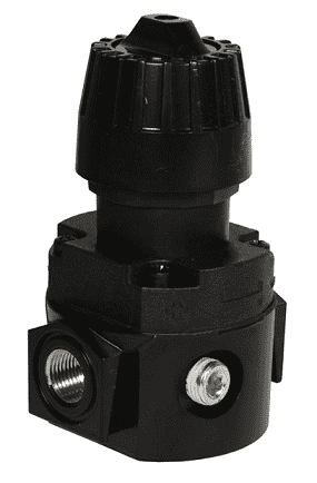 "R16-02R Dixon Wilkerson 1/4"" Compact Regulator without Gauge - 71.5 SCFM"