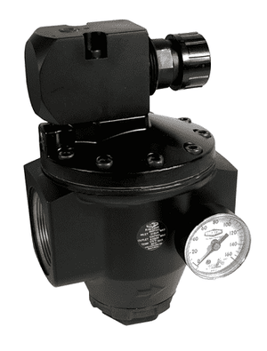 "R18-C05RG Dixon Series 1 Regulators - 2"" Jumbo with Gauge - 2000 SCFM - 450 PSI"