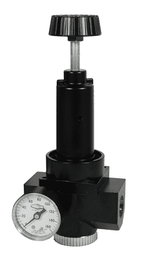 "R30-06RG Dixon Wilkerson 3/4"" High Flow Regulator with Gauge - 480 SCFM"