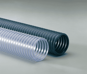 10-R-3-25 Flexaust R-3 (R3) 10 inch Material Handling Duct Hose - 25ft