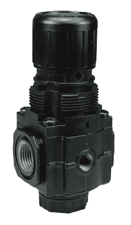 "R72G-2R Dixon Series 1 Regulators - 1/4"" Sub-Compact without Gauge - 70 SCFM"