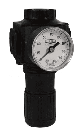 "R74G-4RG Dixon Series 1 Regulators - 1/2"" Standard with Gauge - 220 SCFM"