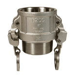 "RB125EZ Dixon 1-1/4"" 316 Stainless Steel EZ Boss-Lock Type B Coupler"