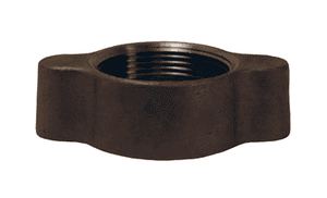 "RB12 Dixon 3/4"" and 1"" 316 Stainless Steel Ground Joint - Wing Nut"