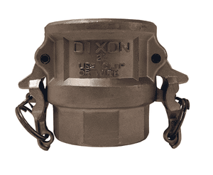 "RD100BL Dixon 1"" 316 Stainless Steel Boss-Lock Type D Coupler"