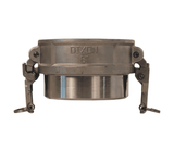 "RDWBPST300EZ Dixon 3"" 316 Stainless Steel EZ Boss-Lock Coupler for Welding - Butt Weld to Schedule 40 Pipe / Socket Weld to Nominal OD Tubing - 3.015 Bore"