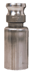 "RE100-1620 Dixon 1"" 316 Stainless Steel Swaged Boss-Lock Type E Adapter with Ferrule for Hose OD Range: 1-29/64"" to 1-35/64"""