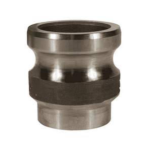 "RE100BT Dixon 1"" 316 Stainless Steel Adapter x Butt Weld to Tube End"