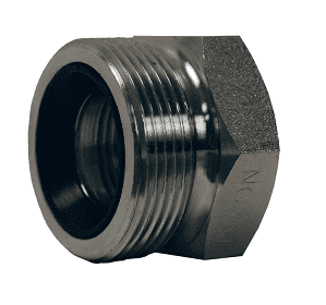 "RGB23 Dixon 1-1/2"" 316 Stainless Steel Ground Joint - Female Spud"