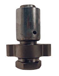 "RGF81P2 Dixon 2"" Stainless Steel Boss Holedall Fitting for Hose OD Range from 2-41/64"" to 2-48/64"""