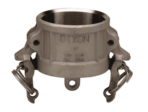 "RH150BL Dixon 1-1/2"" 316 Stainless Steel Boss-Lock Type H Dust Cap"