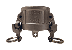 "RH150EZ Dixon 1-1/2"" 316 Stainless Steel EZ Boss-Lock Type H Dust Cap"