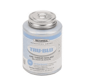 RSTB Banjo Pipe Sealant - RectorSeal® Tru-Blu™ (8 oz Can)