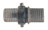 "S93N Dixon 2-1/2"" King Short Shank Suction Complete Coupling with NST (NH) Thread (Steel Shanks with Plated Iron Nut)"
