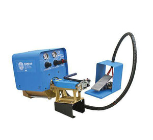 S75099 Band-It Air Tool with Manual Cut Off and Foot Control (use with BAND-IT Jr. Smooth ID clamps)