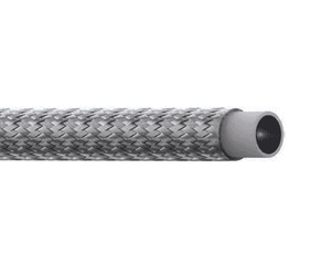 SC-6TW Eaton Aeroquip Everflex SC-TW Smooth Bore PTFE 100R14B Hose - 304 Stainless Steel Braid