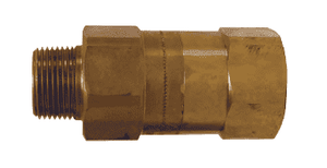"SCVL12 Dixon Safety Check Valve - 1-1/2"" NPT and Hose Size - 300-360 Cut-off Flow Rate"