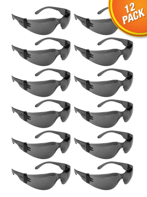 SG1112 Malta Dynamics Tinted Safety Glasses (12 Pack)