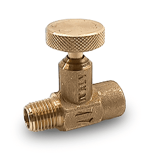"SNI7352M RuB Inc. Needle Valve - Brass - 1/4"" Male NPT x 1/4"" Female NPT"
