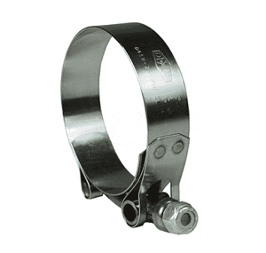 "STBC250 Dixon T-Bolt Clamp - Style STBC - 300 Series Stainless Steel - Hose OD Range: 2.344"" to 2.562"""