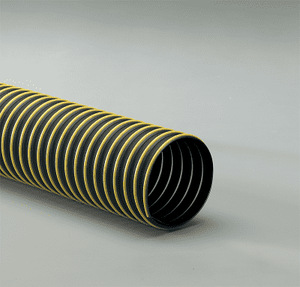 3.5-T-7W-25 Flexaust T-7W (T7W) 3.5 inch Dust and Material Handling Duct Hose - 25ft