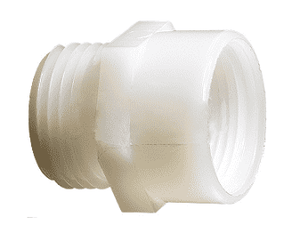 "TA792 Dixon Tuff-Lite Nylon Male GHT x 1/4"" Female NPT Adapter (Pack of 50)"
