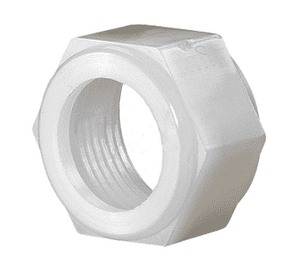 "TCF7 Dixon Tuff-Lite Nylon Female 3/4"" GHT Threaded Swivel Nut Adapter"