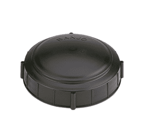 "TL600 Banjo 5-1/2"" Non-Vented Lid for Spray Tanks"