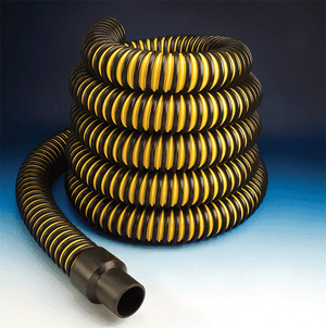 1.5-Tiger-Tail-25 Flexaust Tiger Tail 1.5 inch Material Handling Duct Hose - 25ft