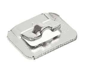 "UB2549 Band-It Ultra-Lok Buckles, 201SS 1/2"" - 100 Pieces/Box"