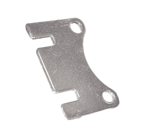 V10270 Banjo Mounting Bracket for Bolted Ball Valves - Straight - 316 Stainless Steel - (For use on Valves: V100FP & V125)
