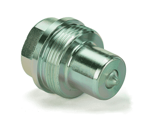 WA0603400 Eaton W6000 Series Screw to Connect Male Plug 1/2-14 Female BSPP NBR Quick Disconnect Coupling - Steel