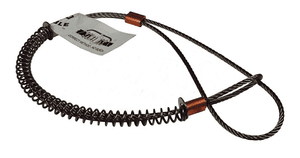 "WSR2SS Dixon Stainless Steel King Safety Cable - Style WSR Hose to Tool Service - 1/4"" Cable"