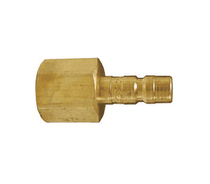 "A2F1-B Dixon Brass A-Series Quick Disconnect 1/4"" Astronautics High Pressure Pneumatic Nipple - 1/8""-27 Female NPTF"