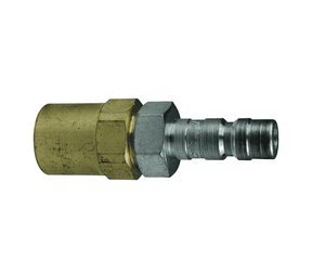"A2E2 Dixon Steel A-Series Quick Disconnect 1/4"" Astronautics High Pressure Pneumatic Nipple - Reusable Barb - 1/4"" Hose ID x 1/2"" OD"