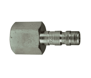 "A2F2 Dixon Steel A-Series Quick Disconnect 1/4"" Astronautics High Pressure Pneumatic Nipple - 1/4""-18 Female NPTF"
