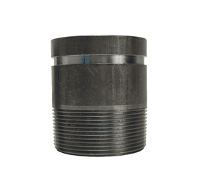 "A712 Dixon Carbon Steel Long Pipe Style Adapter Nipple - Series AN - 2"" Nominal Size"