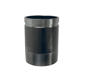"A714 Dixon Carbon Steel Long Pipe Style Adapter Nipple - Series AN - 4"" Nominal Size"