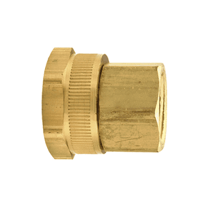 "5021208C Dixon Brass Female GHT x 1/2"" Female NPTF Adapter (Old Part #: BAS974)"