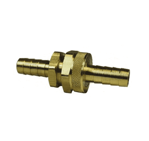 "5921010k Dixon Brass GHT Thread Fitting w/ Hex Nut - Complete Machined Coupling - 5/8"" Hose Size"