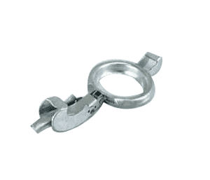 "BLR400 Jason Industrial 4"" Galvanized Steel Locking Lever Pump Coupling - Type B Industrial - Lever Ring"