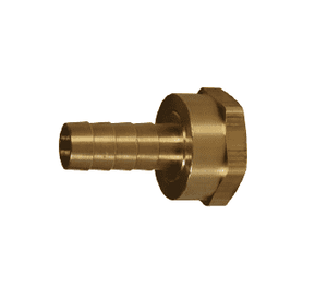 "BS446 Dixon Brass Short Shank Fitting - NPSM Thread - Machined Female w/ Swivel Nut - 1/2"" ID"