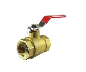 "BV025BF Jason Industrial Brass Ball Valve - 1/4"" Female NPT x 1/4"" Female NPT"