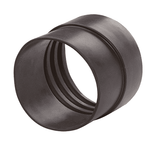 CMCB-150 Kuriyama tiger Extendo-Duct Air Ducting Hose Cuffs - Brown - Thickness: 3mm - Cuff Length: ID 1.57 - OD 1.38